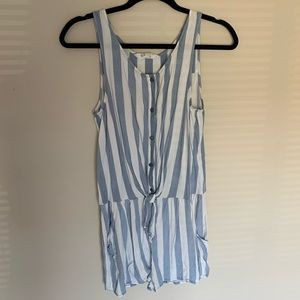 H&M Striped Romper